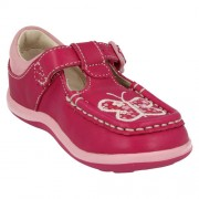 Clarks Alana Star Hot Pink Front 500