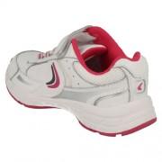 Clarks Alert Jump White Pink Heel 500