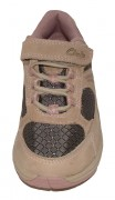 Clarks Alert Taupe NEW Front 500