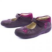 Clarks Binnie Bug Purple 2 shoes 500