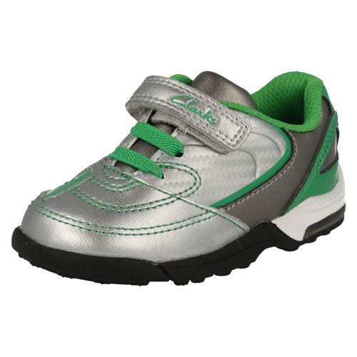 Clarks Booter Silver Green 500