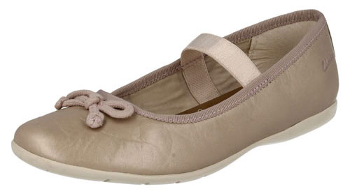 Clarks Dance Along Champagne NEW 500