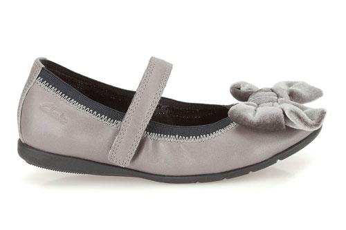 Girls Metallic Bow Startrite Shoes