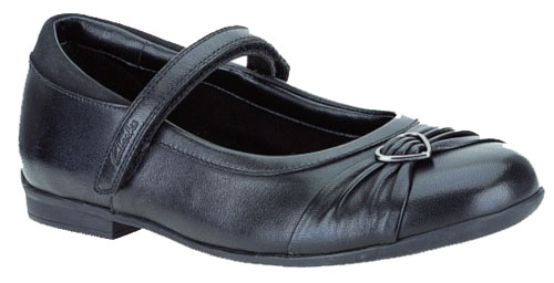Clarks Dolly Heart Black 500 2