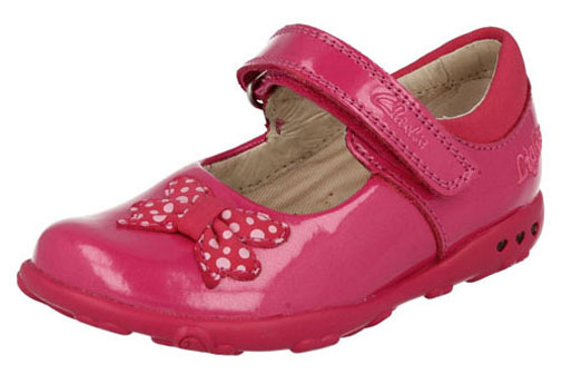 Clarks Ella Star Hot Pink NEW 505