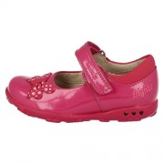 Clarks Ella Star Hot Pink Side 500