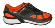 Clarks Hat Trick Orange Black Side 500