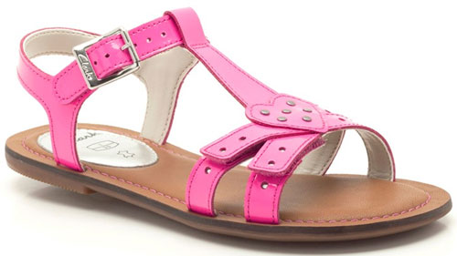 Clarks Loni Lola Hot Pink 500