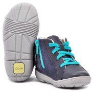 Clarks Maxi Dotty Navy 2 shoes 500