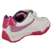 Clarks Mosey Shimmer White Heel 500