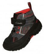 Clarks Napal GTX Black Red Slant 500