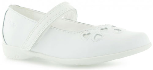 Clarks Orra Heart White 500 new