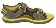 Clarks Piranha Khaki Yellow Side 500