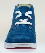 Clarks Rayan Hi Blue Front NEW 500