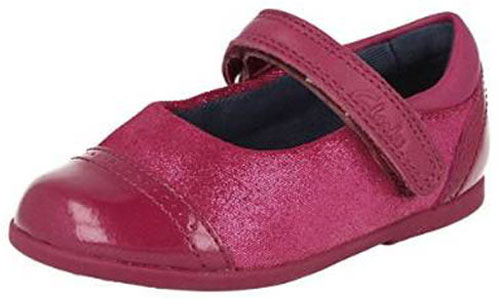 Clarks Rita Shine Berry NEW 500