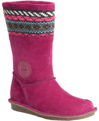 Clarks Snuggle Love Berry 500
