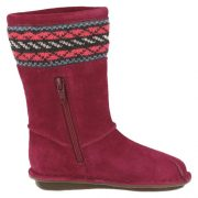 Clarks Snuggle Love Berry  Zip Side 500