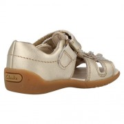 Clarks Softly Rio Metallic Heel 500