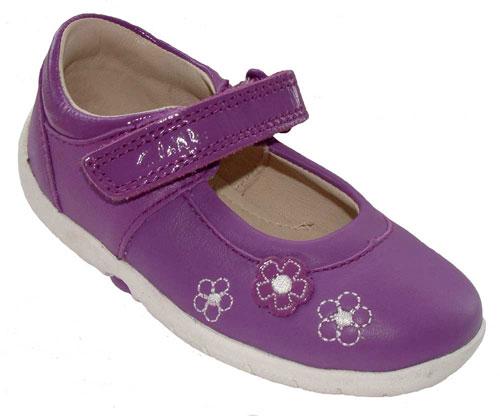 Clarks Softly Sue Purple 500