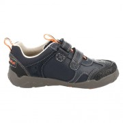 Clarks Stompojaw Navy 500 side