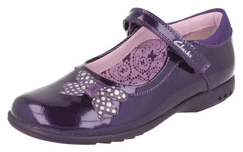 Clarks Trixi Dazzle Purple 500