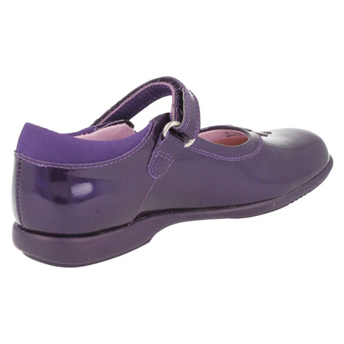 Girls Patent Purple Startrite Shoes