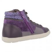 Clarks Zita Snake Purple Heel 500