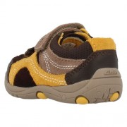 Clarks Ru Rocks Brown Combi Lea Heel 500