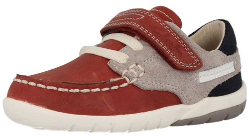 Clarks Softly Flag Red 500