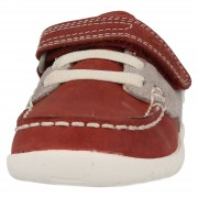 Clarks Softly Flag Red Front