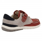 Clarks Softly Flag Red back