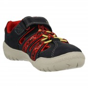 Clarks Stomp Ride Navy Red2