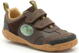 Clarks Stompo Jaw Brown