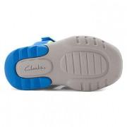 Clarks Beach Tide Blue sole