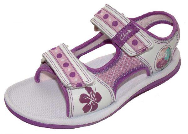 Clarks Captivate Purple Combi 1000