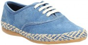 Clarks Dance Strut Jnr Denim 500