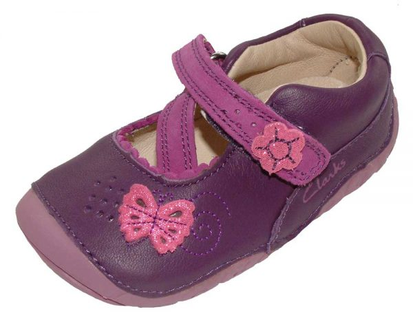 Clarks India Shimmer Purple 1000