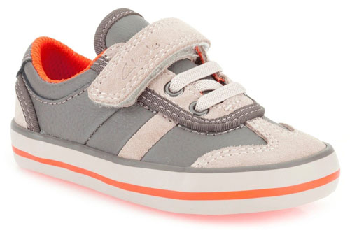 Clarks Little Alf Grey 500