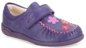 Clarks Litzy Evie Purple 500