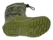Gios Eppo Chapparon Rain boots Khaki Heel 500