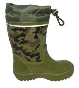 Gios Eppo Chapparon Rain boots Khaki Side 500