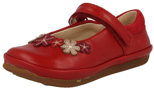Clarks Elza Lily Red 500