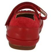 Clarks Elza Lily Red back