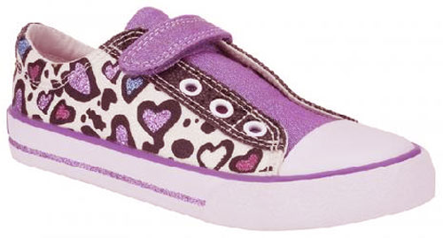 Clarks Glitter It Purple 500