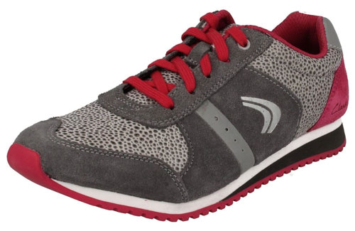 Clarks Super Leap Grey 500