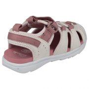 Clarks Beach Fun White Pink Heel 500