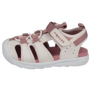 Clarks Beach Fun White Pink Side 500