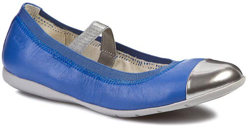 Clarks Dance Brite Blue Leather 500