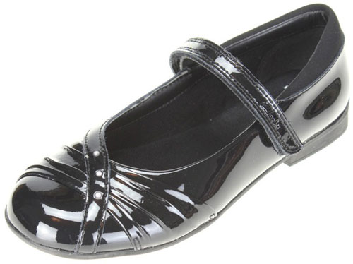 Clarks Dolly Shy Black Patent 500