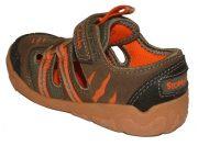 Clarks Stomp Cove Brown Orange Heel 500
